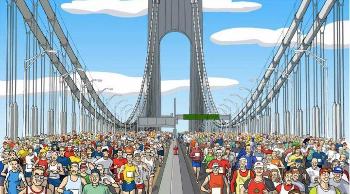 L'emozione della maratona (pensieri controcorrente)