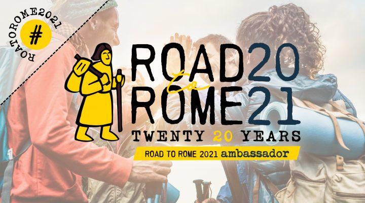 Ambasciatrice della Via Francigena (Road to Rome 2021)